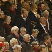 Le Prince William dans les tribunes du Millennium