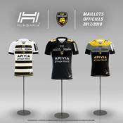 Les trois nouveaux maillots du Stade Rochelais