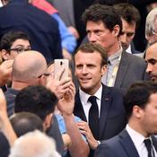 Le président de la République, Emmanuel Macron