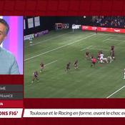 Top 14 : Toulouse et le Racing 92 en forme, avant le choc dimanche