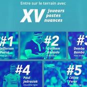 Rugby : une campagne pour découvrir le rugby à travers les yeux des joueurs et joueuses