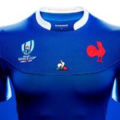 XV de France : un nouveau maillot inspiré de l'armure des samouraïs au Mondial