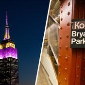 L'Empire State Building aux couleurs de Lakers en hommage à Kobe Bryant