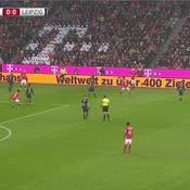 L'incroyable publicité humaine lors des matches du Bayern Munich