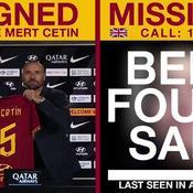 Les tweets d'alerte de l'AS Roma ... permettent de retrouver des enfants disparus