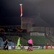 Ligue Europa : Un match interrompu à cause d'un drone portant un drapeau