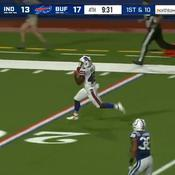 Un rugbyman anglais inscrit un magnifique touchdown pour ses débuts en NFL