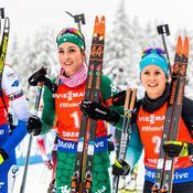 Biathlon : Anaïs Chevalier abonnée au podium