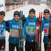 Biathlon : le relais français remporte enfin la timbale