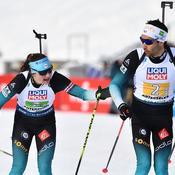 Mondiaux de biathlon : les Bleus commencent par un fiasco dans le relais mixte
