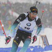 Biathlon : Martin Fourcade, du mieux mais…