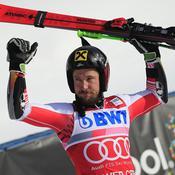 Géant : Marcel Hirscher impérial à Val d'Isère