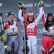 Killington : Brignone mate Worley et Shiffrin
