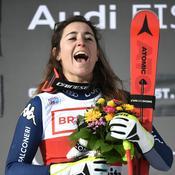Ski : Goggia s'impose d'un souffle, Worley dans le Top 10