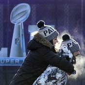 Fans avant le Super Bowl