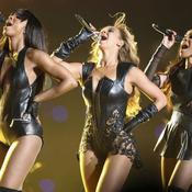 Beyonce (au centre) et les Destiny's Child