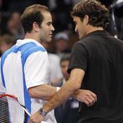 Sampras et Federer/Tennis