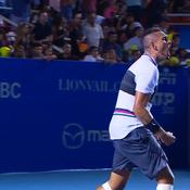 Kyrgios surprend Nadal, les plus beaux points en vidéo