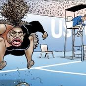 L'auteur de la caricature controversée de Serena Williams dédouané