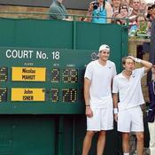 John Isner Nicolas Mahut Wimbledon