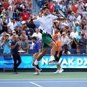 A Cincinnati, Novak Djokovic est entré dans l'histoire