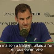 Federer : «J'ai dû faire un choix entre le football et le tennis»