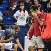 Shanghai : Federer perd ses nerfs et son match contre Zverev