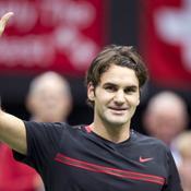 Federer roi de l'indoor