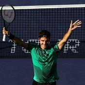 Indian Wells confirme le retour du grand Federer