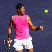 Indian Wells : Nadal rejoint Federer en demi-finales malgré une alerte au genou droit