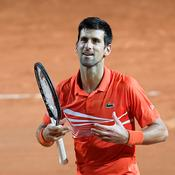 Rome : Djokovic a dû s'employer pour rejoindre Nadal en finale