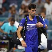 Miami : panne brutale pour Djokovic, Isner continue