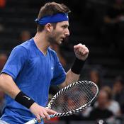 Moutet s'offre le droit de défier Djokovic et espère «être meilleur que lui»
