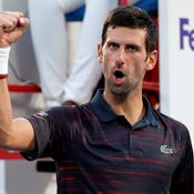 Novak Djokovic en finale à Tokyo