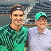 Quand Roger Federer et Bill Gates lancent un match de charité