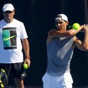 Toni et Rafael Nadal sur le circuit, c'est bientôt fini