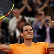 Toujours invincible, Nadal s'offre un nouveau record