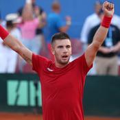Coupe Davis : la Croatie rejoint la France en finale en écartant les Etats-Unis