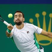 A un mois de la finale de Coupe Davis, les défaites s'enchaînent pour Marin Cilic