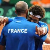 Tennis Coupe Davis Jo-Wilfreid Tsonga Guy Forget