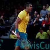 Coupe Davis : Goffin et Kyrgios ont fait le job, Belgique et Australie à égalité