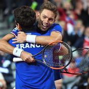 Coupe Davis : Herbert et Mahut en balade, la France prend l'avantage