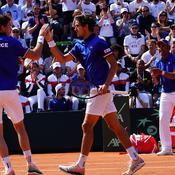 Le double français surclasse l'Italie et prend les devants dans ce quart