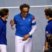 Coupe Davis : Noah : «Il y a des points positifs et des choses à améliorer»