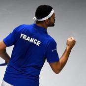 Coupe Davis : Dans une ambiance (très) feutrée, Tsonga lance bien les Bleus