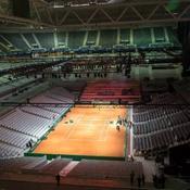 Coupe Davis: une (belle) course contre la montre pour construire le court