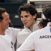 David Nalbandian et Rafael Nadal