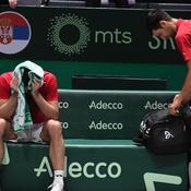 La Serbie de Djokovic, en larmes et inconsolable en conférence de presse