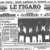 Coupe Davis 1991, Une Figaro