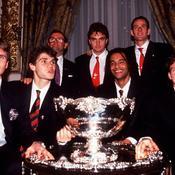 Coupe Davis trophée
